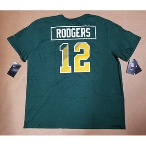 Aaron Rodgers Green Bay Packers T-Shirt Mens XXL
